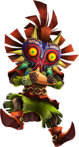 File:HWL Skull Kid Ocarina Artwork.png
