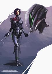 Female assassin by tysho-d3lkdld