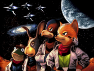 Star Fox team classic Command
