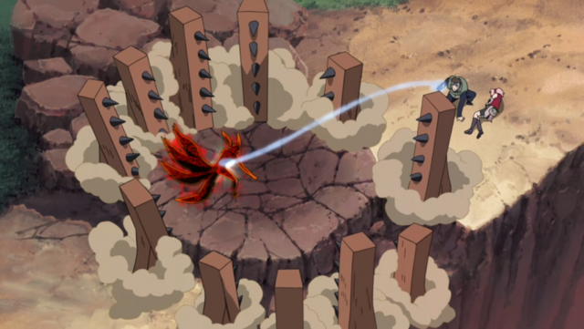 File:Tenzo Suppresing The 4 Tailed Naruto.png