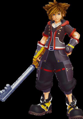 File:Sora Kingdom Hearts III.png
