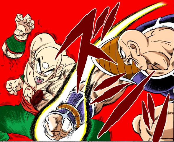 File:Nappa Attacks Tien.png