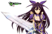 Yatogami Tohka AW Battle HD Render