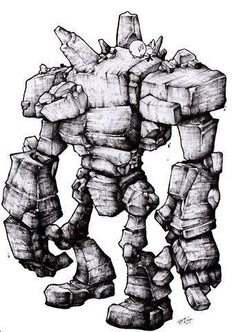 File:Stone Golem by Hakirus.jpg