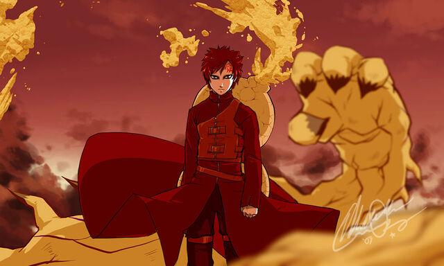 File:Naruto Gaara Of The Sand by EiffelArt.jpg