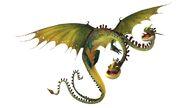 Hideous Zippleback Dreamworks Dragons