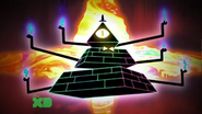 Bill Cipher physical form