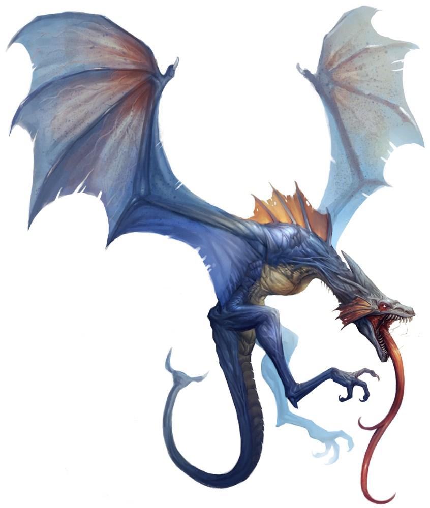 Wyvern Dragon: Lesser Dragon Physiology