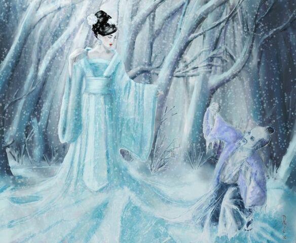 File:Yuki onna as ice queen by reginanegra.jpg