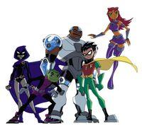 Teen Titans team photo