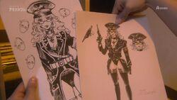 Aoi villain sketches