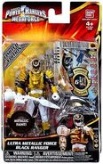 Ultra Metallic Force Black Ranger