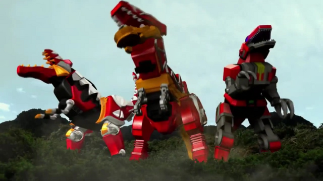 File:The three Tyrannosaurus Mechas.png