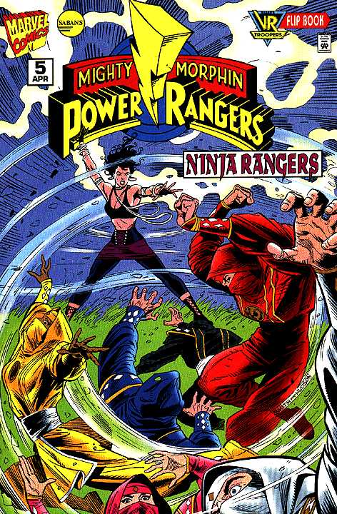 mighty morphin power rangers ninja rangers issue 5