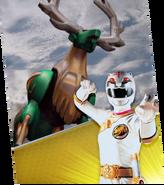 Green Deer Wild Zord Megazord Madness