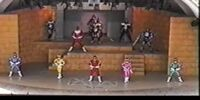 Carranger Stage Show at Super Hero Nostalgia