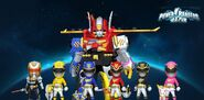 Power Rangers Megaforce in Power Rangers Dash