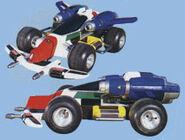Giga Formula, Car Mode