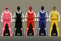 Maskman Ranger Keys