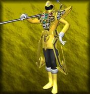 Gokai Yellow Gold Mode (Dice-O)