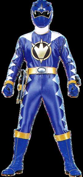 File:Blue Dino Ranger & AbareBlue.png