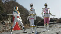 White Gokai Change