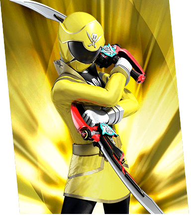 yellow power ranger megaforce - photo #15