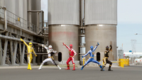 Super Megaforce Dino Thunder