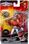 Metallic Force Red Ranger