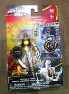 Metallic Force Mighty Morphin White Ranger