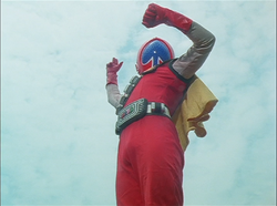 Spade Ace Gaoranger vs. Super Sentai