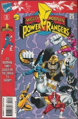MMPR Vol.1 Issue 3 Marvel