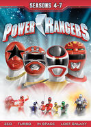 Power Rangers Seasons 4-7