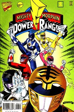 Marvel's MMPR Vol 1. Issue 6