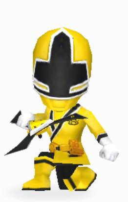 File:Yellow Samurai Ranger In Power Rangers Dash.jpg