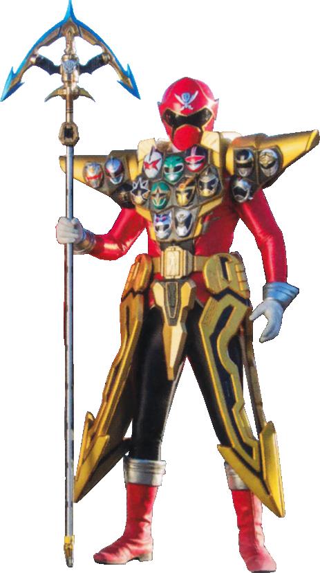 Risultati immagini per gokai red gold mode