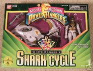 White Ranger's Shark Cycle