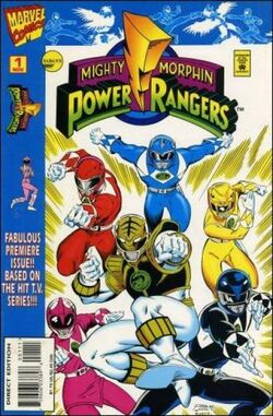 Marvel's MMPR Vol 1 Issue 1