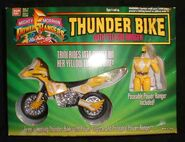 Thunder Bike with Yellow Ranger