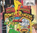 Mighty Morphin Power Rangers Saga Issue 2
