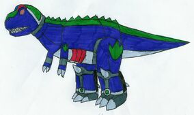 Tyrannozord by MCsaurus