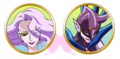 Yes! Pretty Cure 5 Arachnea faces