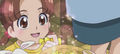 Little girl thanks Yuko