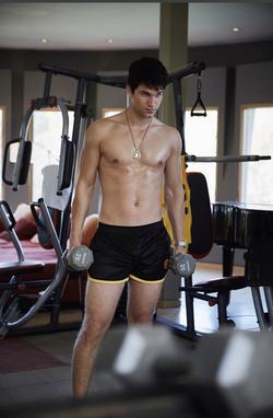 Keegan workout