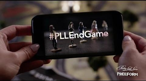 Pretty Little Liars The Game is Coming to an End The Final Episodes April 18, 2017 on Freeform!