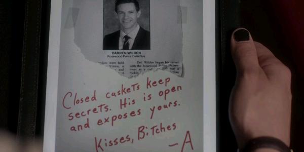 A's Messages in Season 4 | Pretty Little Liars Wiki ...