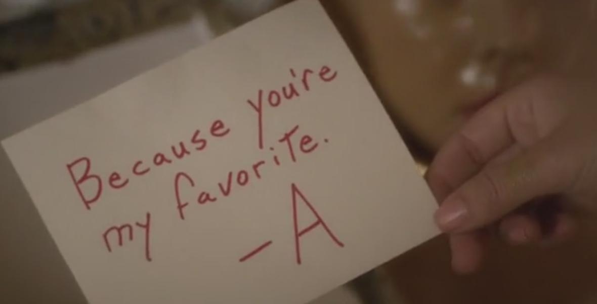A&39;s Messages in Season 5   Pretty Little Liars Wiki ...