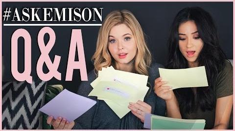 Emison Q&A Pt. 1 with Sasha Pieterse! Shay Mitchell-0