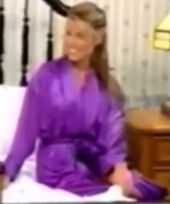 Rachel in Satin Sleepwear-4