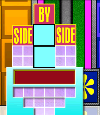 side by side the price is right wiki fandom powered by wikia. Black Bedroom Furniture Sets. Home Design Ideas